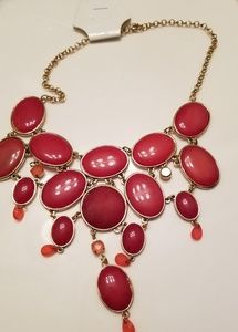 Reddish necklace
